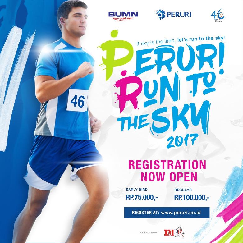 Peruri Run to The Sky